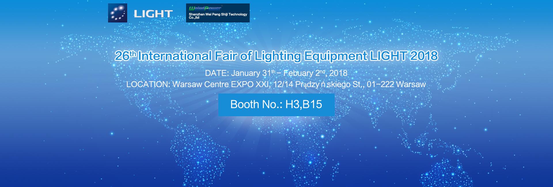 26th International Fair of Lighting Equipment LIGH