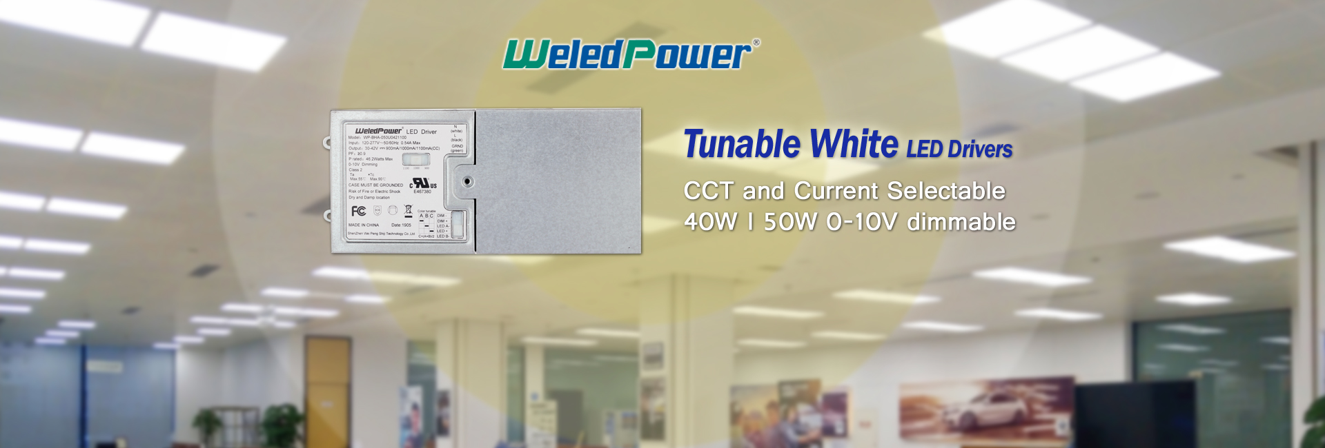 tunable white led drivers